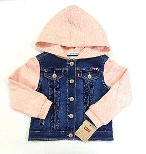 Levi´s Jaqueta Jeans/Rosa c/capuz