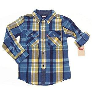 Levi´s Camisa Xadrez Manga Longa