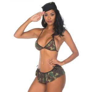 00894 - KIT MINI FANTASIA MILITAR - PIMENTA SEXY