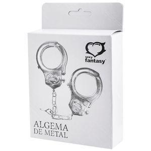 ALGEMA EM METAL CROMADA - SEXY FANTASY