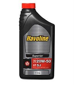 Óleo de Motor 20w50 SJ Havoline 1L Texaco