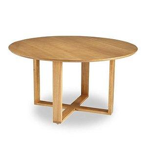 Mesa De Jantar Stabile em madeira cor Carvalho