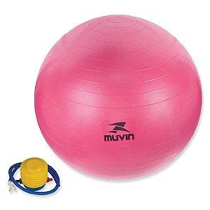 Bola de Pilates 55cm C/Bomba - Muvin