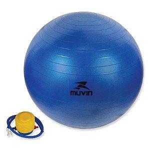 Bola de Pilates 65cm C/Bomba - Muvin