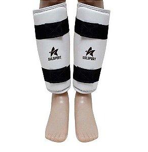 Caneleira Protetor de Canela Taekwondo - Oficial - WTF - SulSport