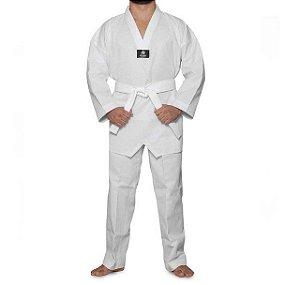 Uniforme Dobok Taekwondo Pro Olympic Gola Branca Sulsport