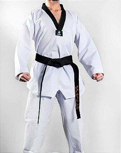 Uniforme Dobok Taekwondo Pro Olympic Gola Preta Sulsport