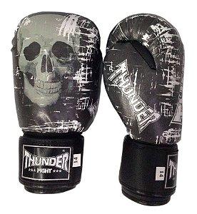 Luva de Boxe / Muay Thai 12oz  - Caveira - Thunder Fight