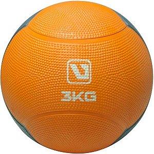 Bola Medicine Ball Peso 3 Kg Academia Funcional Live Up