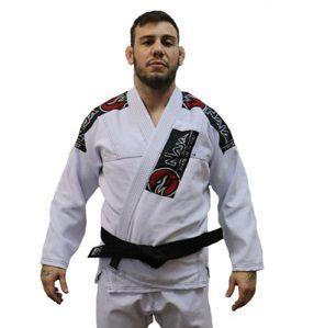 Kimono Jiu Jitsu Masculino New First Bjj - Branco - Naja - A4