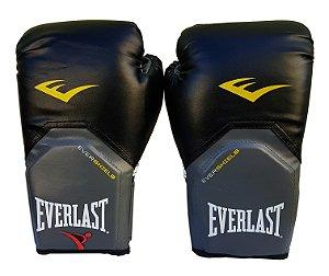 Luva de Boxe / Muay Thai 12oz Preto Pro Style Everlast