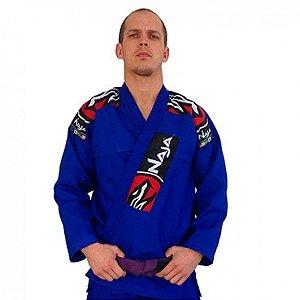 Kimono Jiu Jitsu Masculino Extreme Bjj - Azul - Naja - A1