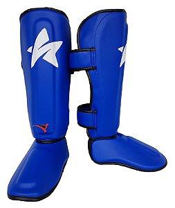 Caneleira Ultra Light Muay Thai MMA Azul 20mm SulSport