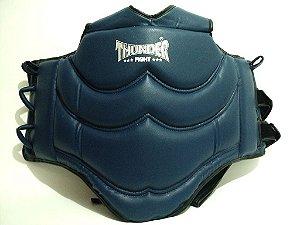 Protetor De Tórax Colete - Boxe - Muay Thai - Taekwondo - Azul - Thunder FIght