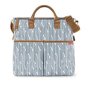 Bolsa Maternidade ( Diaper Bags) Duo Limited Blue Print Stripe **********NOVIDADE************