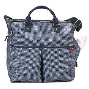 Bolsa Maternidade (Diaper Bag) Duo Limited Blue Pinpoint