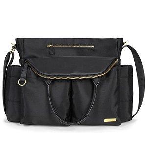 Bolsa Maternidade (Diaper Bag) Chelsea Black - *******PROMOÇÃO RELAMPAGO - GANHE 1 RollAroud - o chocalho mordedor premiado para o seu bebe******