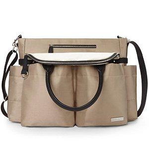 Bolsa Maternidade (Diaper Bag) Chelsea Champagne  *******PROMOÇÃO RELAMPAGO - GANHE 1 RollAroud - o chocalho mordedor premiado para o seu bebe******