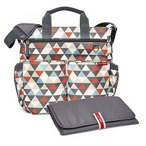 Bolsa Maternidade - Diaper Bag - Duo Signature Triangles