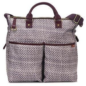 Bolsa Maternidade - Diaper Bag - Duo Special Edition - Plum Sketch