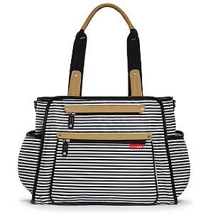 Bolsa Maternidade ( Diaper Bag) - Grand Central - Black Stripe