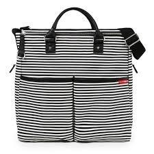 Bolsa Maternidade ( Diaper Bag) - Duo Special Edition - Black Stripe **********( Novidade )*************