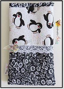 Porta Óculos Pinguins