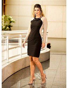 Vestido Recorte- 9400 - Joyaly