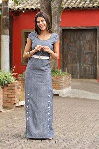 Vestido Longo Rebeca - 9887 - Joyaly