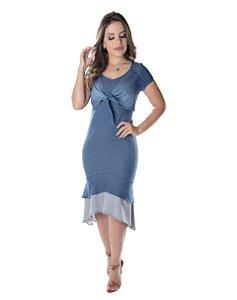 Vestido Denin Renata - 10240 - Joyaly