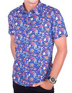 Camisa Casual - Manga Curta RVS