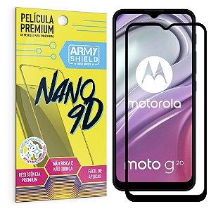 Película Moto G20 Premium Nano 9D - Armyshield