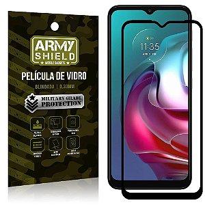 "Película de Vidro Moto G30 Blindada para tela 6,5"" Full Cover - Armyshield"