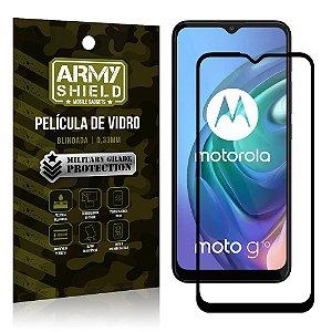 "Película de Vidro Moto G10 Blindada para tela 6,5"" Full Cover - Armyshield"