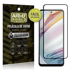 Película de Vidro 3D Moto G60 Fácil de aplicação - Armyshield
