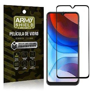 "Película de Vidro Moto E7 Power Blindada para tela 6,5"" Full Cover - Armyshield"