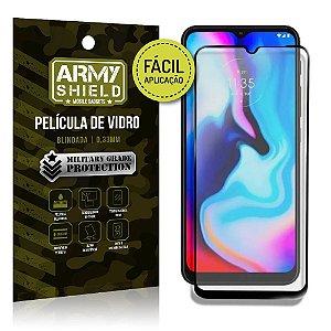 Película de Vidro 3D Moto E7 Plus Fácil de aplicação - Armyshield
