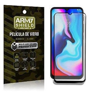 "Película de Vidro Moto E7 Plus Blindada para tela 6,5"" Full Cover - Armyshield"