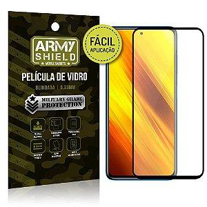 Película de Vidro 3D Poco X3 Fácil de aplicação - Armyshield