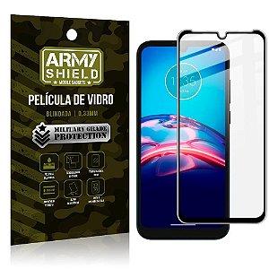 "Película de Vidro Moto E7 Blindada para tela 6,5"" Full Cover - Armyshield"