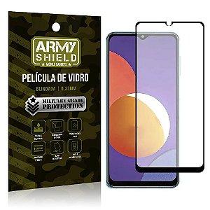 "Película de Vidro Galaxy M12 Blindada para tela 6,5"" Full Cover - Armyshield"