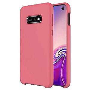 Capinha Silicone Cover Aveludada Samsung Galaxy S10e