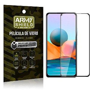 "Película de Vidro Redmi Note 10 Pro Blindada para tela 6,67"" Full Cover - Armyshield"