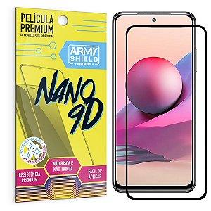 Película Redmi Note 10S Premium Nano 9D - Armyshield