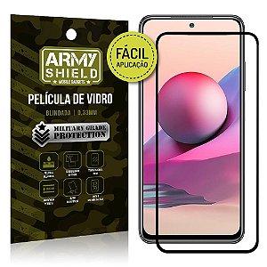 Película de Vidro 3D Redmi Note 10S Fácil de aplicação - Armyshield