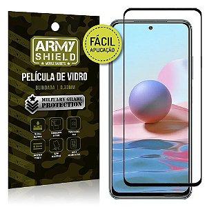 Película de Vidro 3D Redmi Note 10 Fácil de aplicação - Armyshield