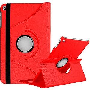 Capa Giratória Vermelha Samsung Galaxy Tab A S Pen 8.0 P205/P200 - Armyshield