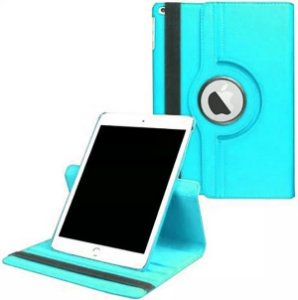 Capa Giratória iPad 10.2' 7a e 8a Geração Turquesa - Armyshield