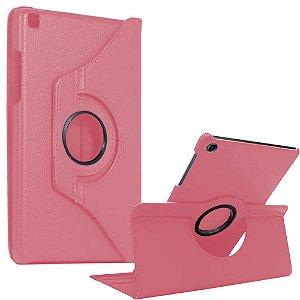 Capa Giratória Rosa Claro Galaxy Tab S6 Lite 10.4' P610 P615 - Armyshield