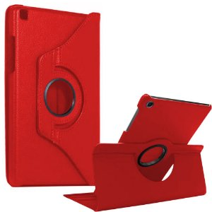Capa Giratória Vermelha Galaxy Tab S6 Lite 10.4' P610 P615 - Armyshield